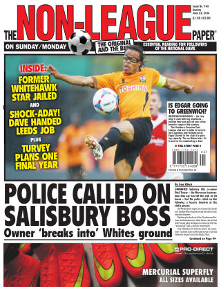 The Non-League Football Paper 22nd June 2014