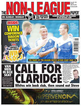 The Non-League Football Paper 13th July 2014