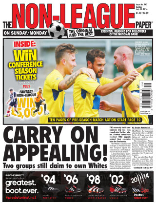 The Non-League Football Paper 20th July 2014