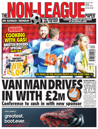 The Non-League Football Paper 27th July 2014