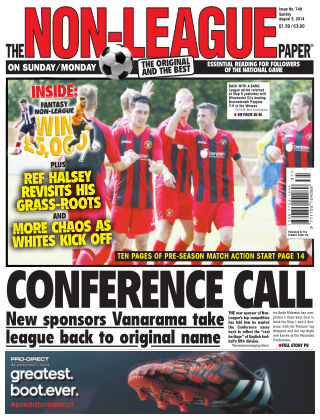 The Non-League Football Paper 3rd August 2014