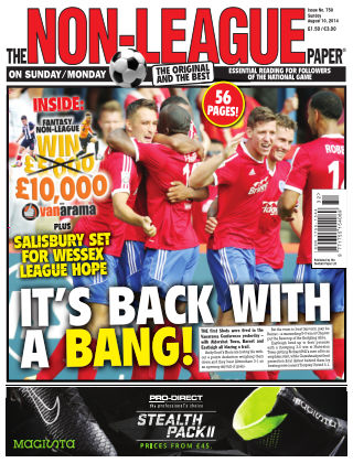 The Non-League Football Paper 10th August 2014