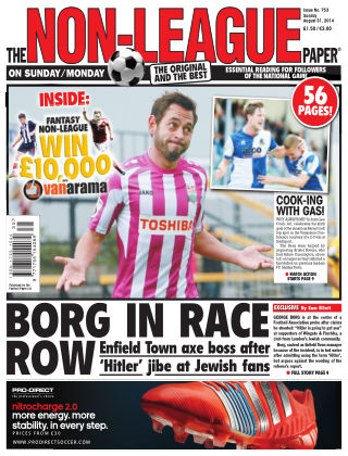 The Non-League Football Paper 31st August 2014