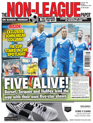 The Non-League Football Paper 21st September 2014