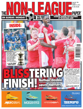 The Non-League Football Paper 12th October 2014