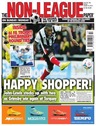 The Non-League Football Paper 19th October 2014