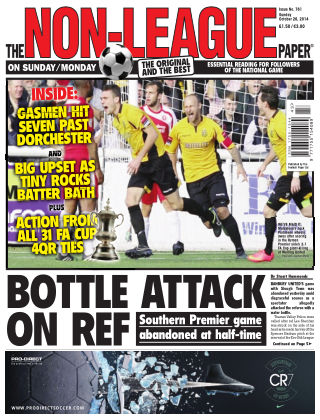 The Non-League Football Paper 26th October 2014