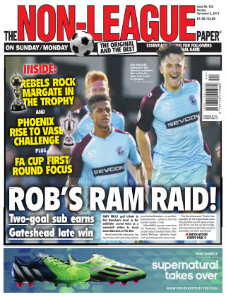 The Non-League Football Paper 2nd November 2014