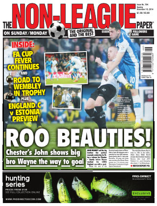 The Non-League Football Paper 16th November 2014