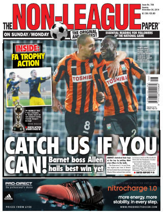 The Non-League Football Paper 30th November 2014