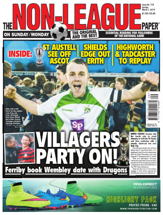 The Non-League Football Paper 1st March 2015