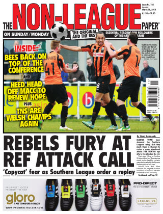 The Non-League Football Paper 15th March 2015