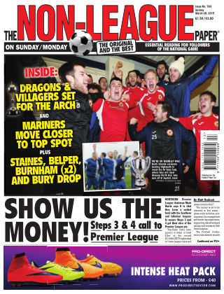 The Non-League Football Paper 29th March 2015