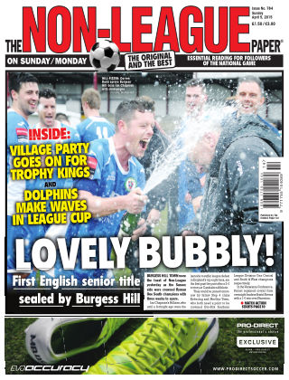 The Non-League Football Paper 5th April 2015