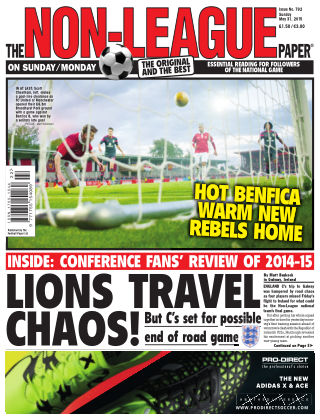 The Non-League Football Paper 31st May 2015