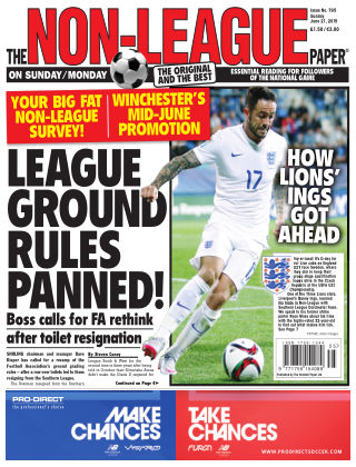The Non-League Football Paper 21st June 2015