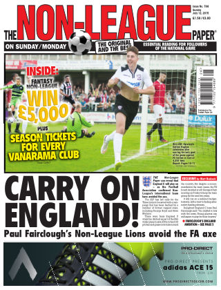 The Non-League Football Paper 12th July 2015