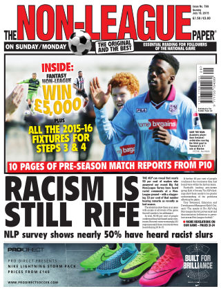 The Non-League Football Paper 19th July 2015