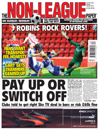 The Non-League Football Paper 26th July 2015
