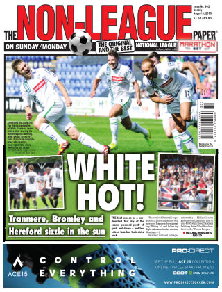 The Non-League Football Paper 9th August 2015