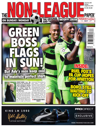 The Non-League Football Paper 23rd August 2015