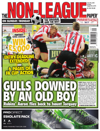 The Non-League Football Paper 30th August 2015