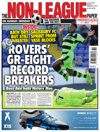 The Non-League Football Paper 6th September 2015