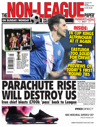 The Non-League Football Paper 8th November 2015