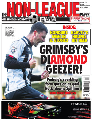 The Non-League Football Paper 22nd November 2015