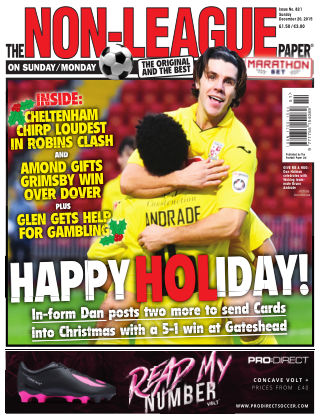 The Non-League Football Paper 20th December 2015