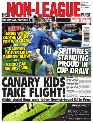 The Non-League Football Paper 10th January 2016