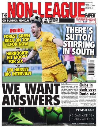 The Non-League Football Paper 24th January 2016