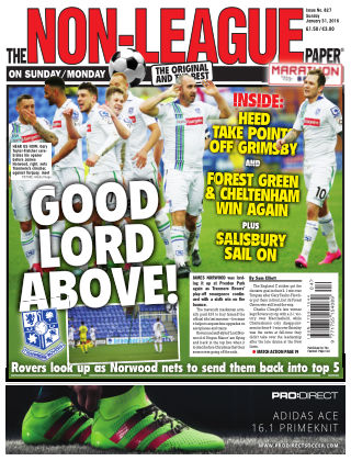 The Non-League Football Paper 31st January 2016