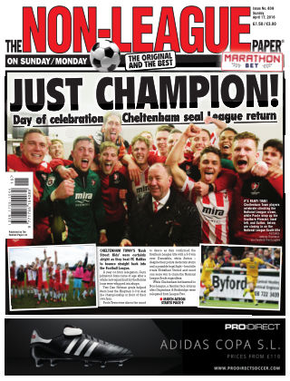 The Non-League Football Paper 16th April 2016