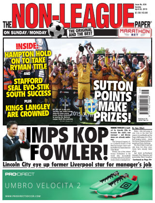 The Non-League Football Paper 24th April 2016