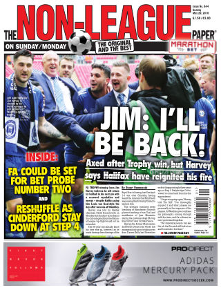 The Non-League Football Paper 29th May 2016