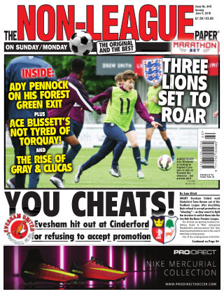 The Non-League Football Paper 5th June 2016