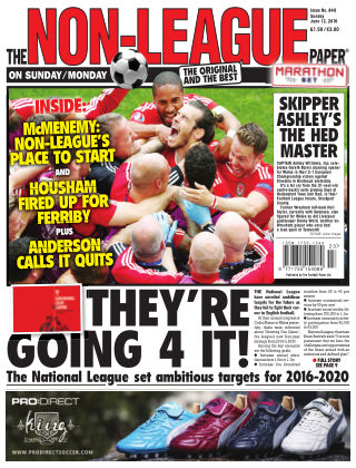 The Non-League Football Paper 12th June 2016