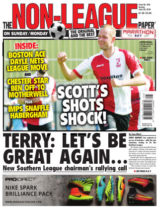 The Non-League Football Paper 26th June 2016