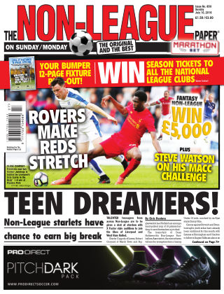 The Non-League Football Paper 10th July 2016