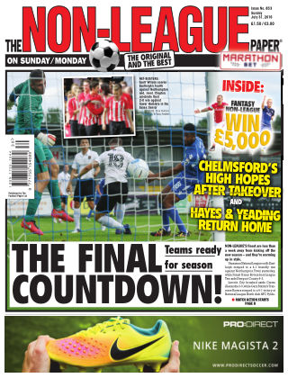 The Non-League Football Paper 31nd July 2016