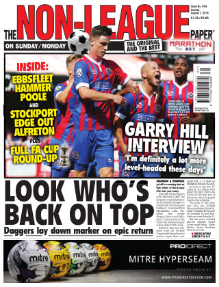 The Non-League Football Paper 7th August 2016