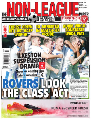 The Non-League Football Paper 14th August 2016