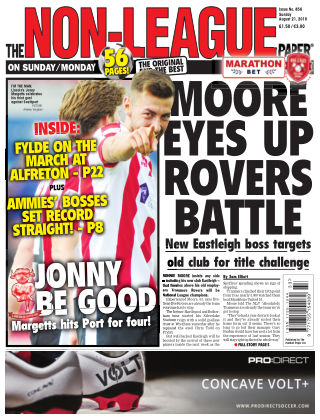 The Non-League Football Paper 21st August 2016