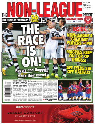 The Non-League Football Paper 28th August 2016