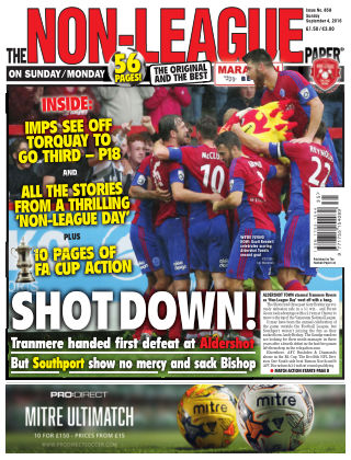 The Non-League Football Paper 4th September 2016