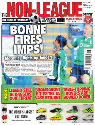 The Non-League Football Paper 11th September 2016