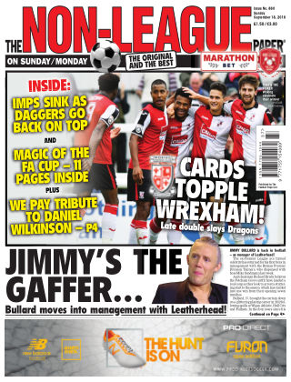 The Non-League Football Paper 18th September 2016