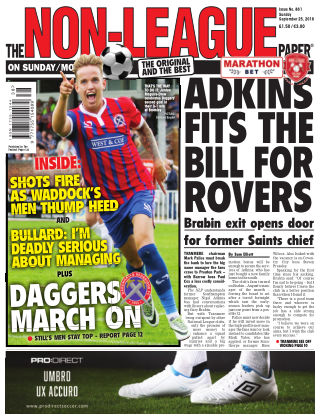 The Non-League Football Paper 25th September 2016