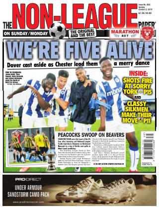 The Non-League Football Paper 2nd October 2016